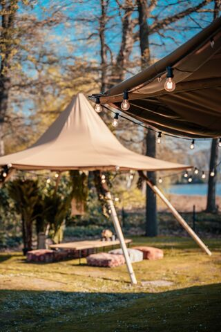Tipi tent huren I Nordictent I Little hat I Stretched.be